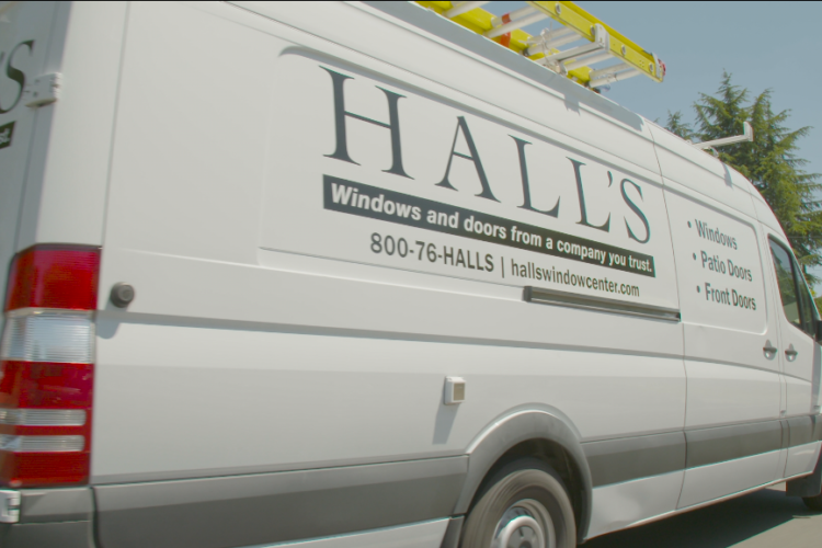 Commercial for Hall's Window Center